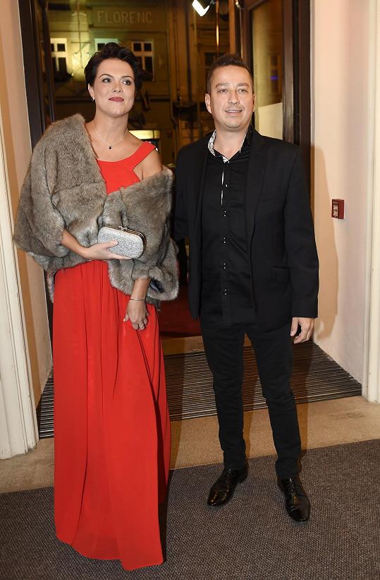 Petr s bývalou manželkou Zuzanou. Už kvůli dětem spolu skvěle vycházejí.