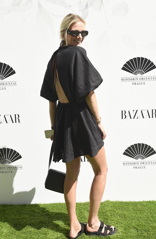 Zuzana na letní party časopisu Harper's Bazaar