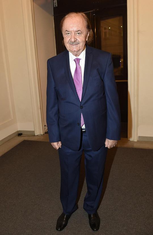 František Janeček se přišel podívat na konkurenci.