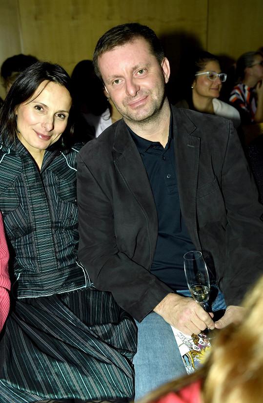 Zdeňka s manželem na módní přehlídce v Brně