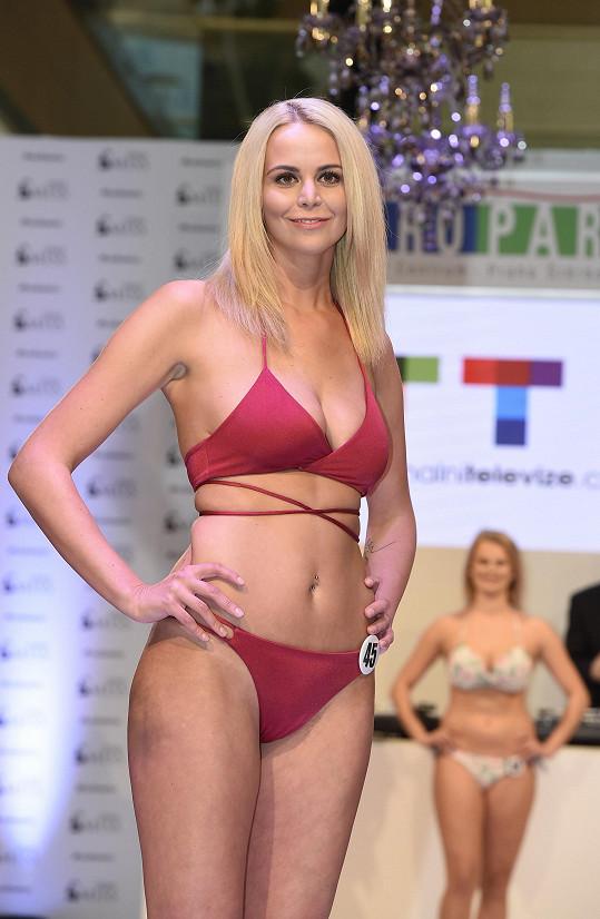 Kateřina Hadašová na castingu České Miss