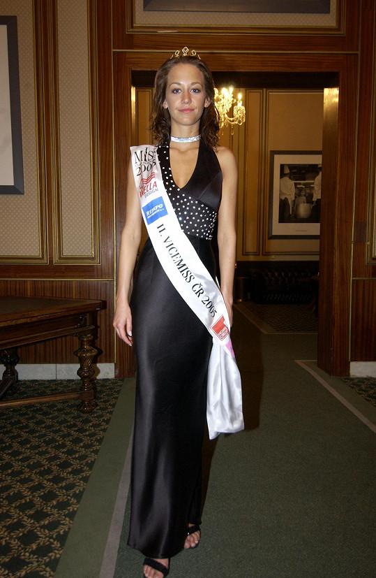 V roce 2005 uspěla v Miss ČR.