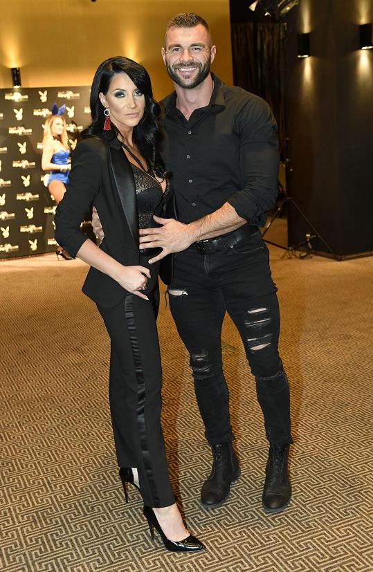 Andrea s přítelem Petrem Plačkem