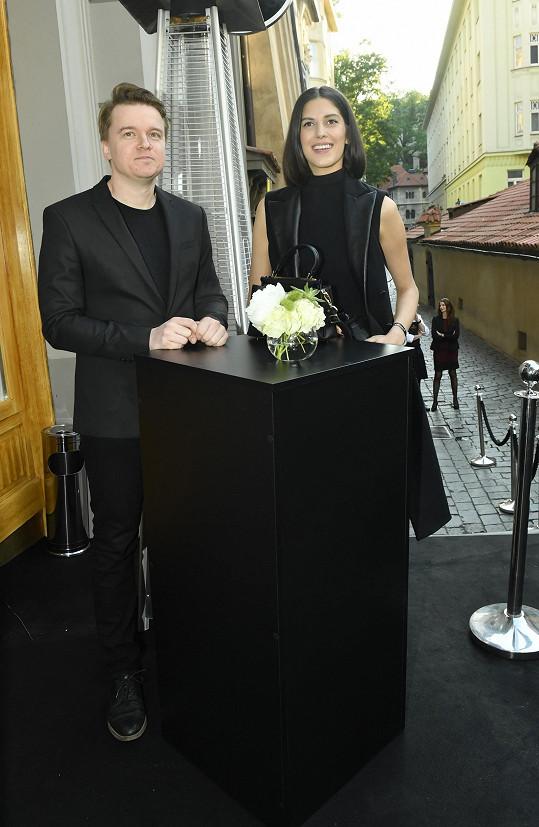 Aneta s Petrem vyrazili na luxusní párty.