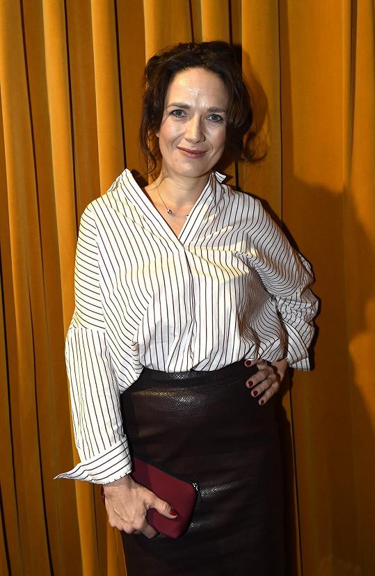 Tereza Kostková se nedávno podruhé vdala.