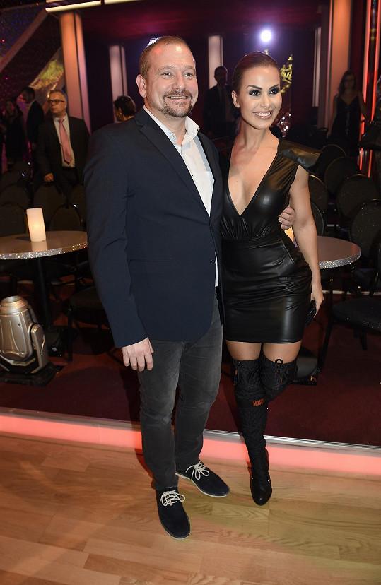 Martina oblékla sexy outfit.