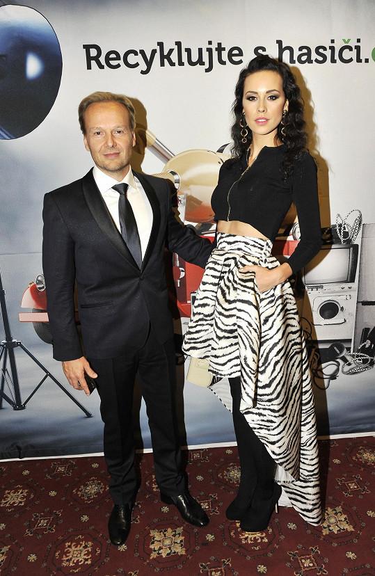 Kateřina se svým snoubencem Jiřím