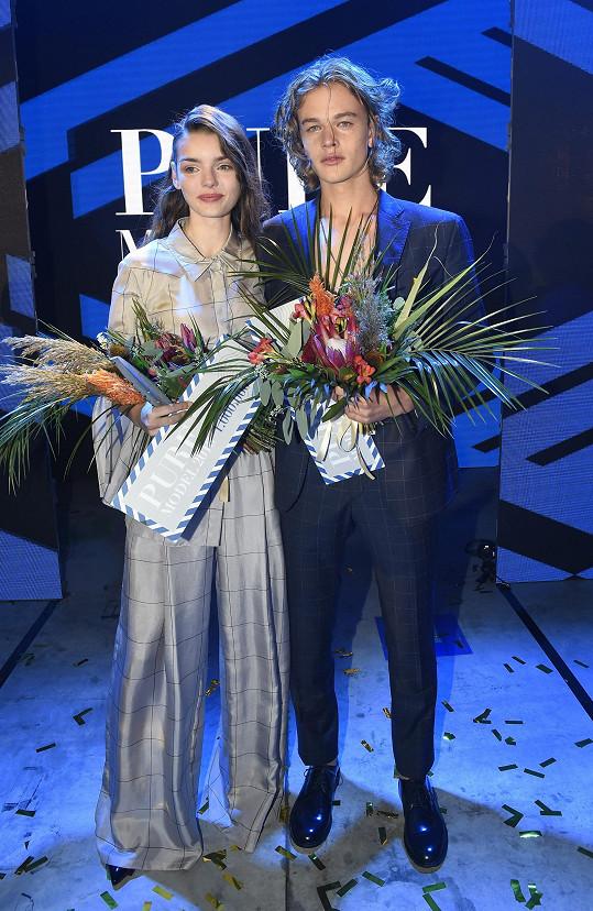 Nyní zasedla v porotě modelingové soutěže, kterou vyhráli Anna Brodecká a Oliver Průcha.