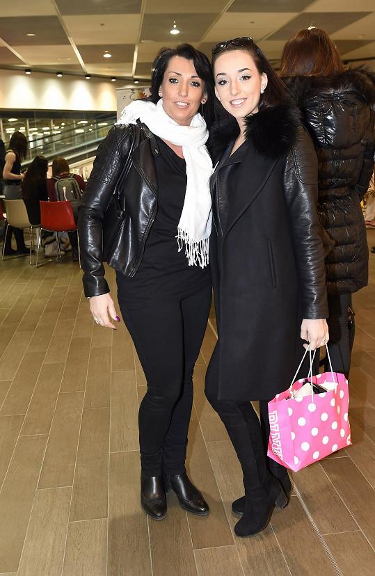 Adéla s maminkou Evou Čížkovskou
