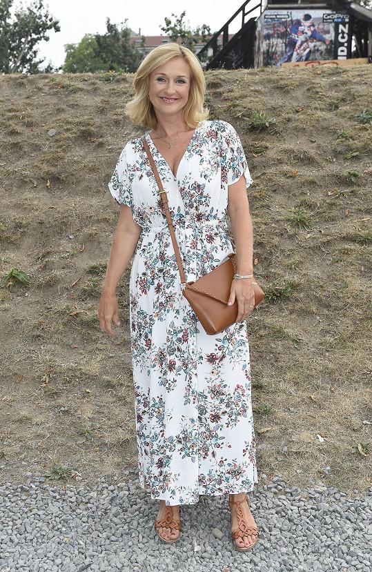 Terezie Kašparovská dorazila rovnou z vysílání mezi posledními.