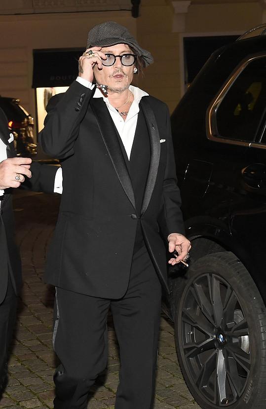 Nechyběl ani Johnny Depp.