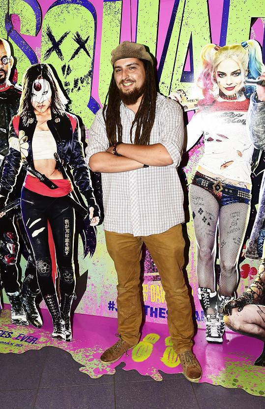 Michal Šeps vyrazil do kina.