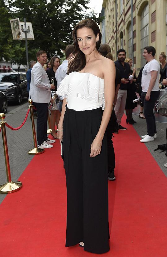 Má pořád figuru jako v době, kdy byla třetí na Miss ČR.