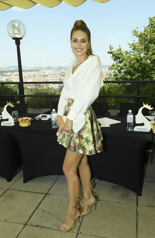 Karolína zasedla v porotě castingu na novou Českou Miss.
