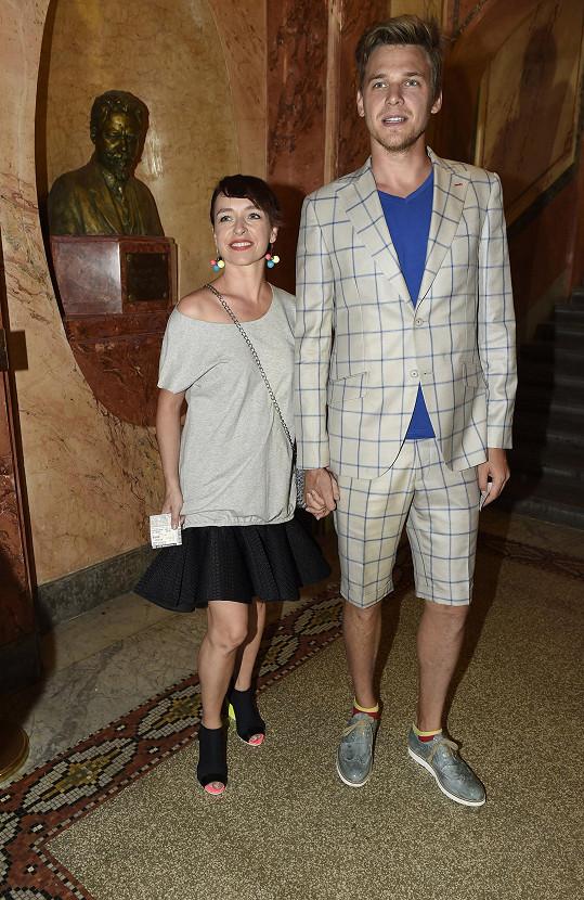 Vojtěch Dyk se svou životní partnerkou Tatianou Vilhelmovou