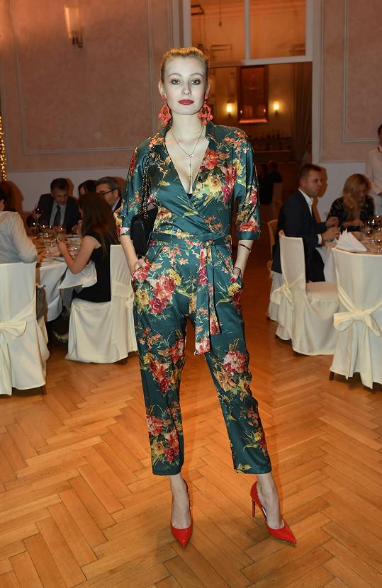 Diana nemohla chybět na galavečeru Czechoslovak TopModel, který se tentokrát konal v Letenském zámečku.