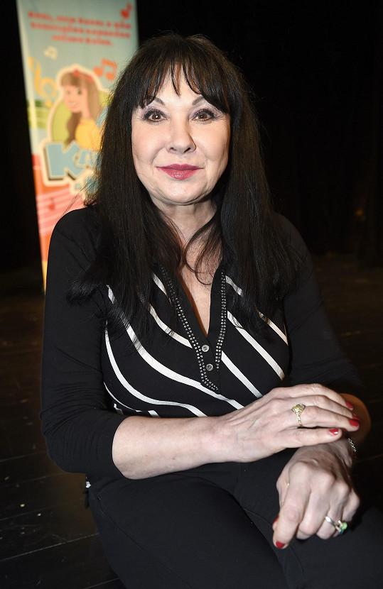 Dagmar Patrasová slaví 65. narozeniny.