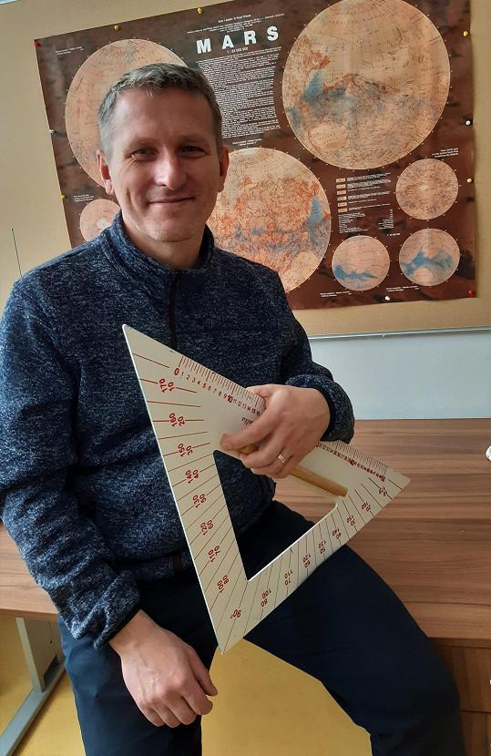 Vladimír Kořen se z učitelského řemesla raduje. Říká, že před sebou vidí nové obzory, které mu dávají smysl.
