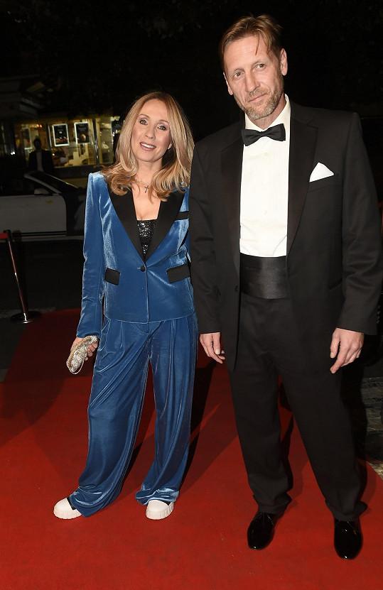 Tereza Pergnerová s partnerem Jiřím Chlebečkem