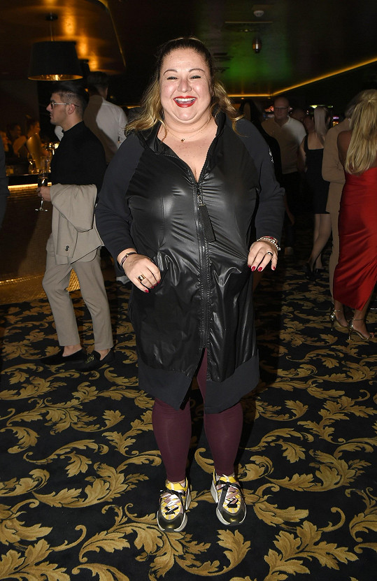 Aneta Christovová zhubla 15 kilo, ale víc už shazovat nechce.