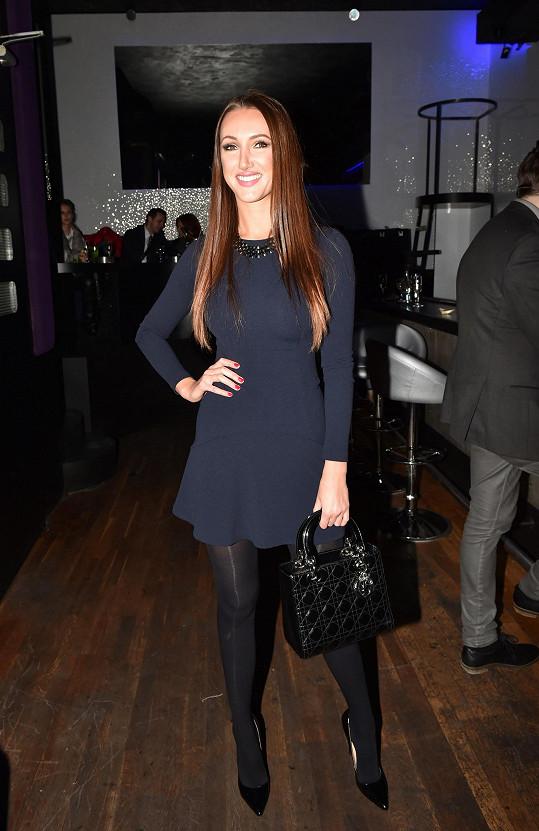 Na párty byla i modelka Taťána Makarenko.