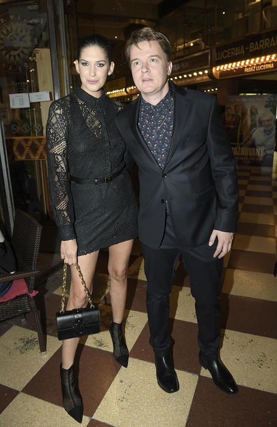 S partnerkou Anetou Vignerovou