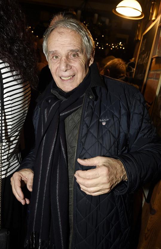 Mezi nestory na párty patřil Josef Laufer.