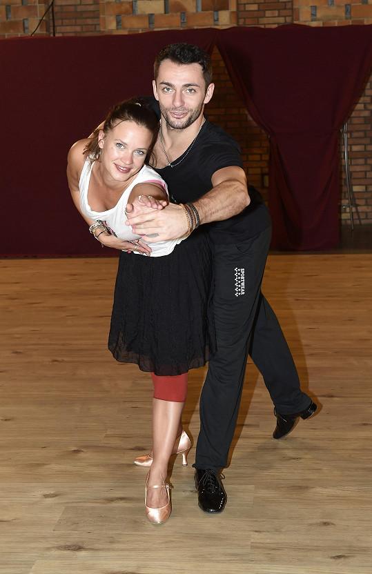 Leichtová a Masaryk mají zatím natrénované dva tance.