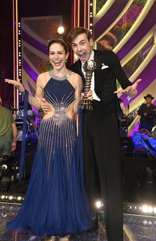 S tanečníkem Dominikem Vodičkou vyhrála loňský ročník StarDance.