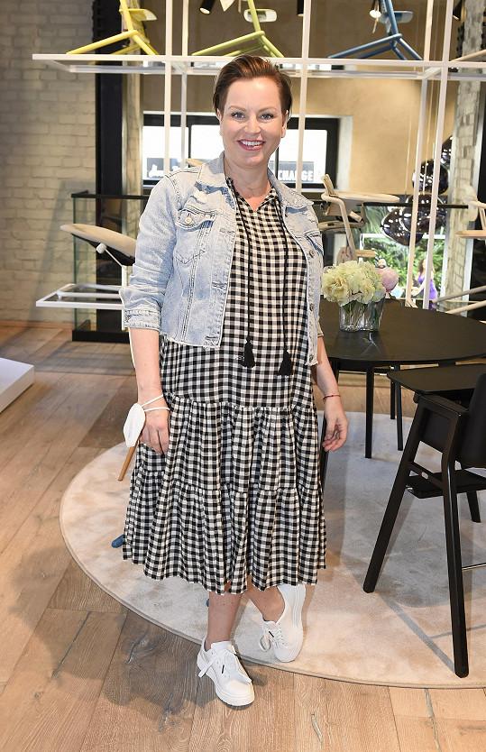 Martina Pártlová je v 9. měsíci těhotenství.