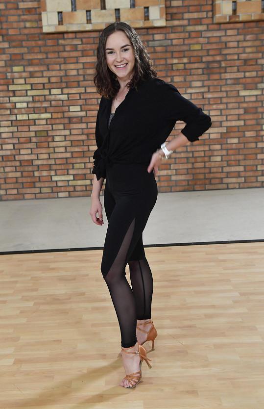 Adriana Mašková je ze svého tanečního partnera nadšená.