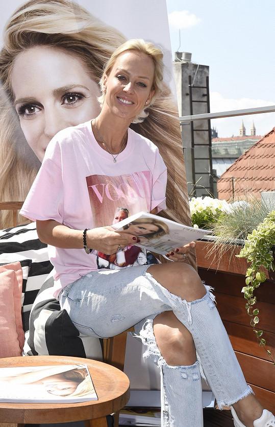 Zuzana Belohorcová je zpátky v Česku
