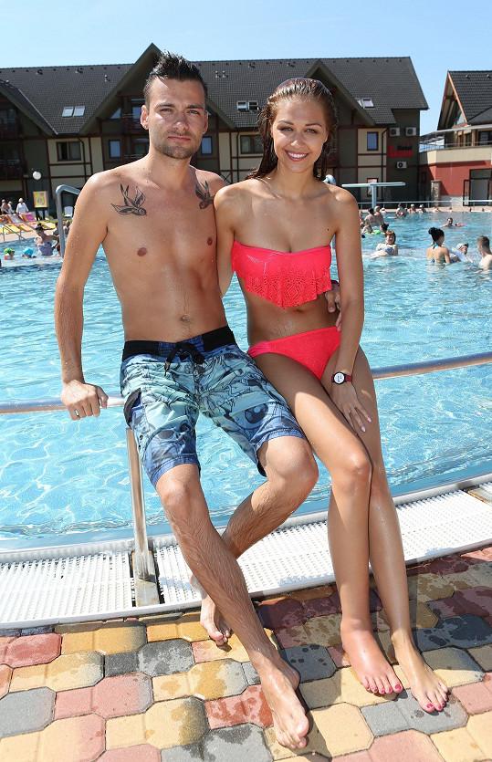 Víkend trávili v aquaparku v Bešeňové.