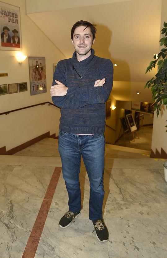 Karel Heřmánek mladší teď vede Divadlo Bez zábradlí.