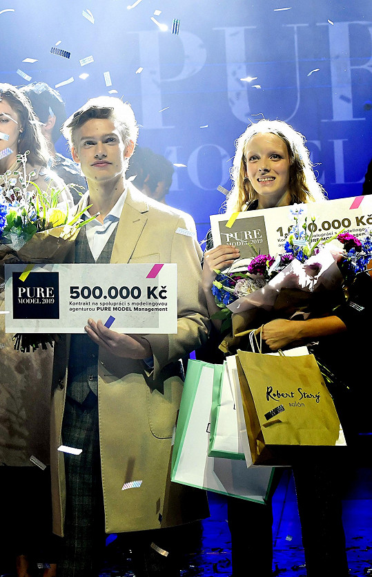 Vyhrála kontrakt na milión korun.