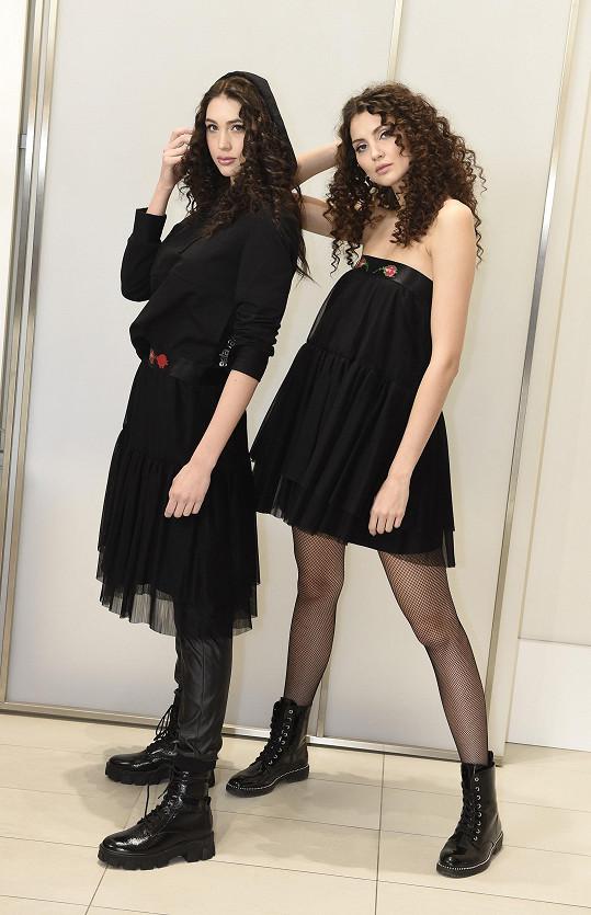 Denisa Spergerová a Karolína Kopíncová v nové volnočasové kolekci