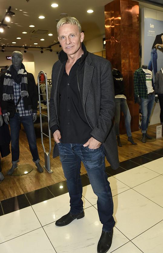 Martin Maxa dorazil na casting České Miss.