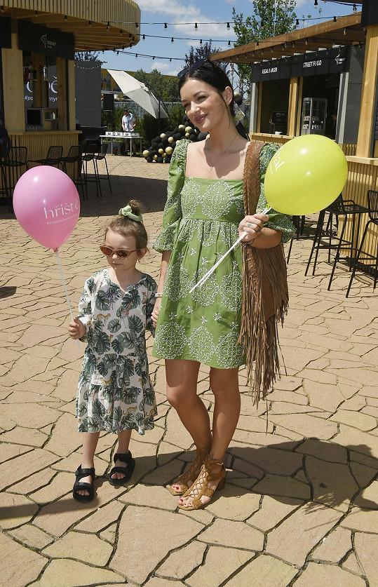 Jitka Boho s dcerkou Rosálkou
