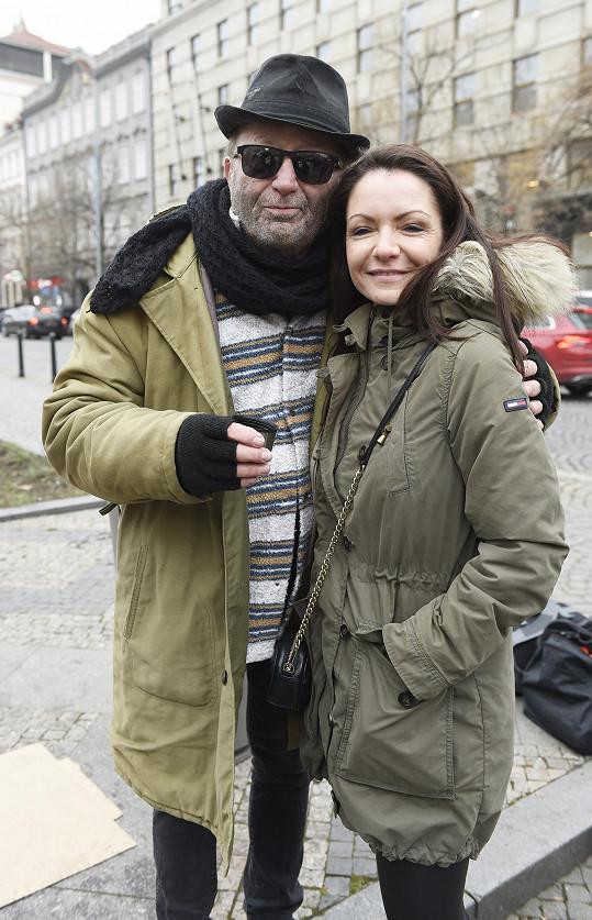 S manželkou Alicí