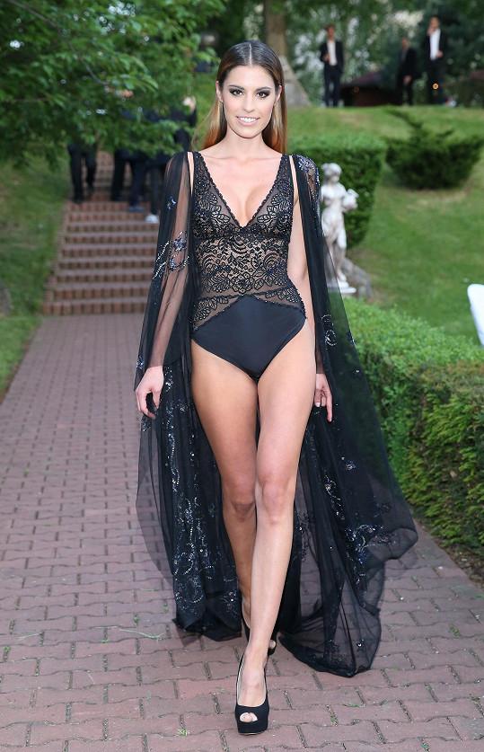 Tereza Budková je i díky plastice prsou vyhledávanou modelkou.
