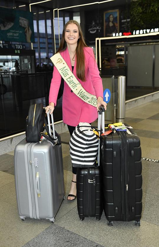 Klára Vavrušková se vrátila po skoro šesti týdnech z Filipín, kde bojovala o titul Miss Earth 2019.
