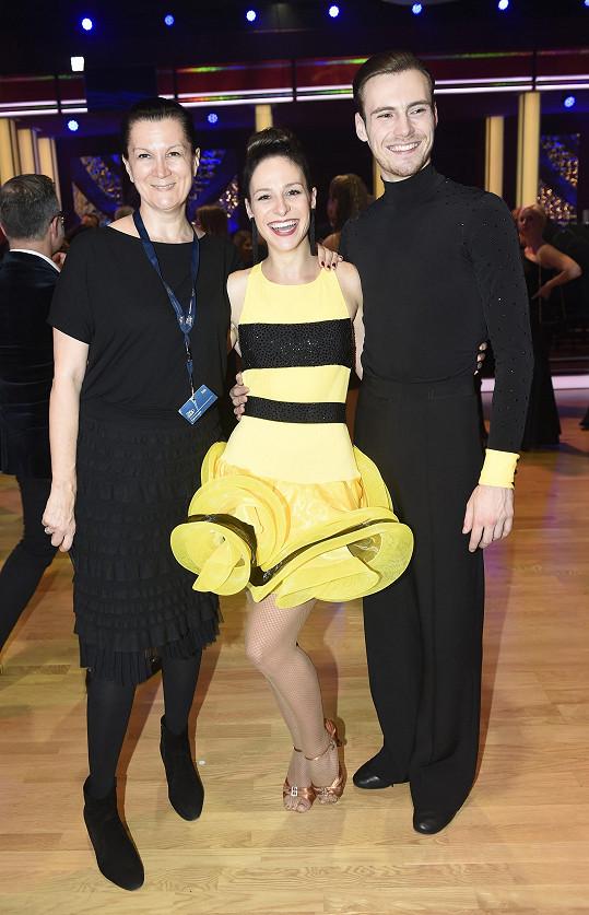 S Táňou Kovaříkovou na šatech pracovaly společně.