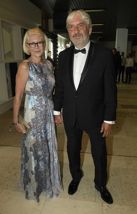 Manželé Miroslav a Zuzana Donutilovi