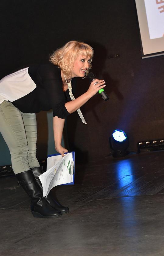 Bittnerová se účastnila akce Hejbejte se Hanky Kynychové.