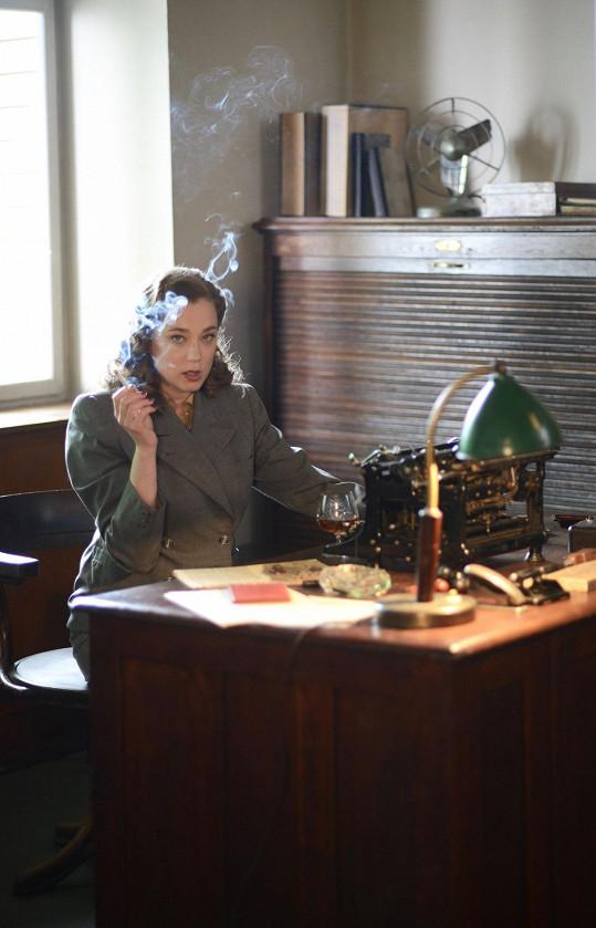 Kristýna Boková ztvárnila ve filmu Toman sekretářku Miladu Třískalovou.