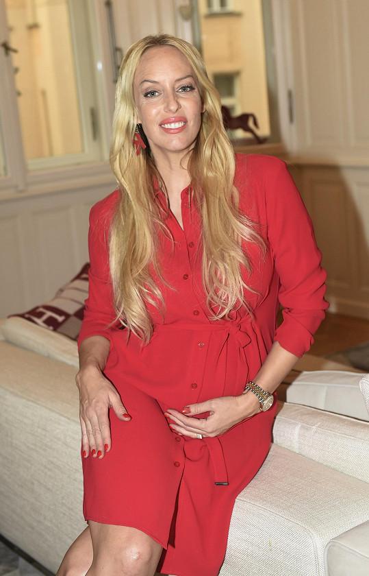 Kate je v 6. měsíci těhotenství.