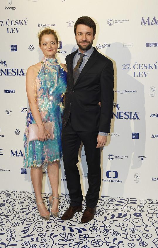 Lenka s manželem Václavem Neužilem