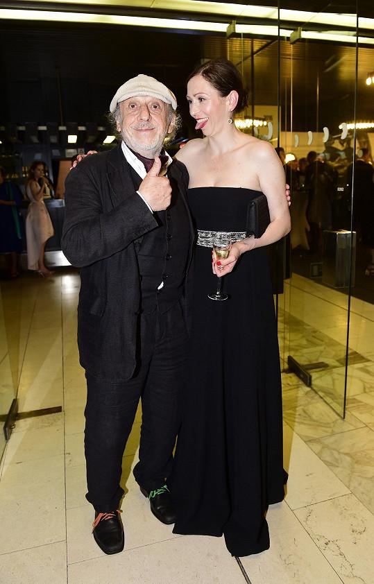 S otcem Jiřím Stivínem