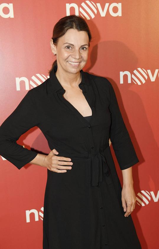 Martina je vděčná za novou roli v seriálu.