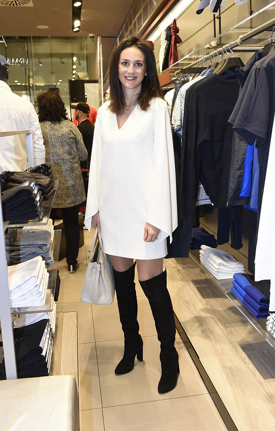 Pavla Vrbová má svůj outfit vždy dokonale vyladěný.